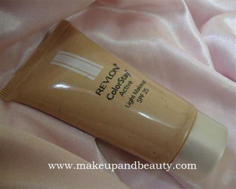 Revlon Colorstay Active Foundation revlon colorstay active light makeup review