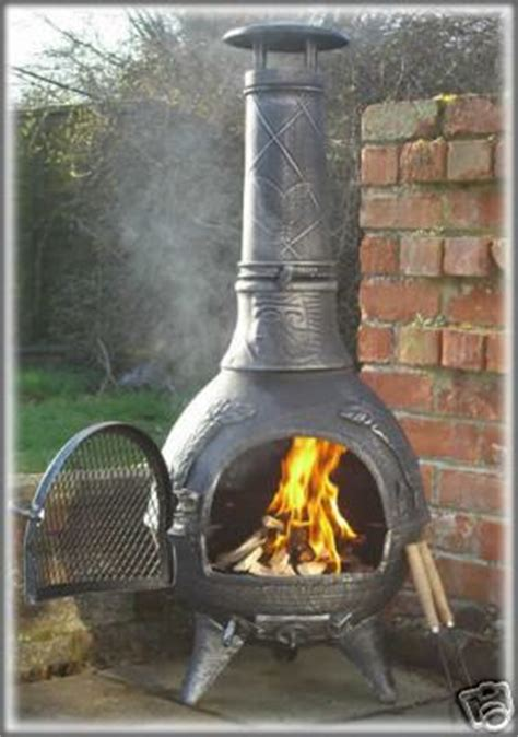 Briquettes For Chiminea How To Use My Cast Iron Chiminea In Winter Ehow Uk