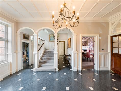 entry hall ls how one aussie family is restoring a french chateau