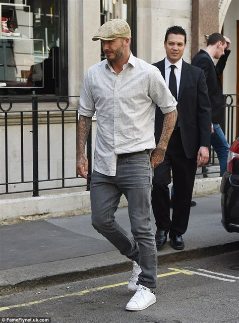 Beckham To Host Tv Show As Fashion Expert 2 by David Beckham Dons A Dapper Cap As He Pays A Visit To
