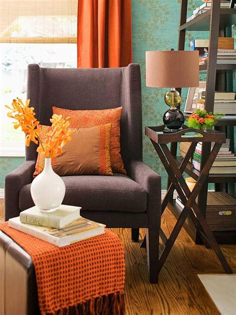 orange home accessories for every room of the house