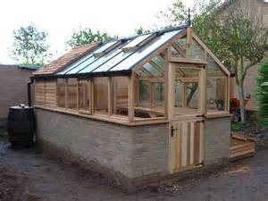 Small Backyard Greenhouse Cedar Shingle Roof Sheds