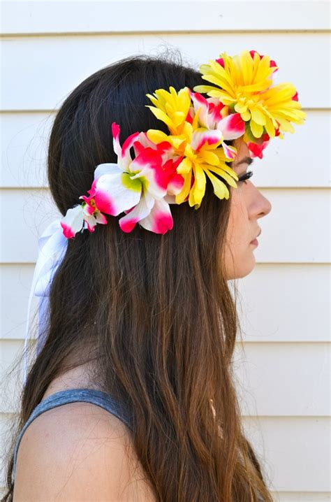 How To Make A Flower Crown Out Of Paper - how to make a flower crown diy projects craft ideas how