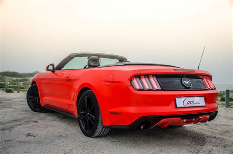 Ford Mustang 2 3 2016 ford mustang 2 3 ecoboost convertible automatic 2016