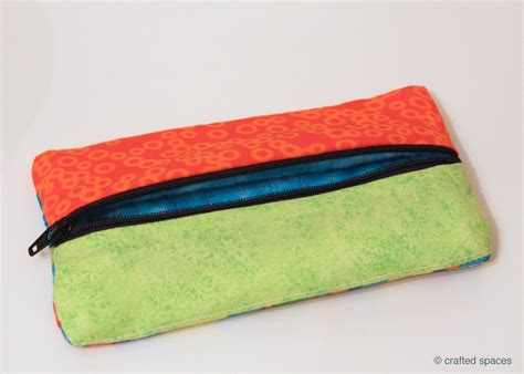 pattern sewing pencil case crafted spaces sewing a pencil case