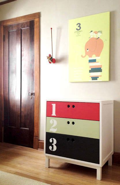Ikea Bedroom Drawers Pine Ikea Hack Coloring Dresser Drawers Different Idea For