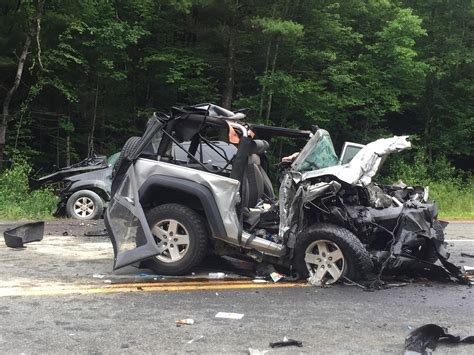 Jeep Crash Barre Killed In Route 49 Crash In East Brookfield