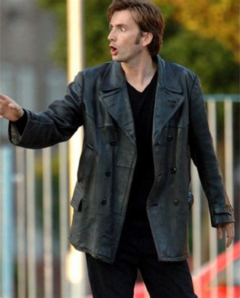 david tennant velvet suit david tennant doctor who leather coat top celebs jackets