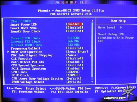 reset bios foxconn foxconn 975x7ab 8ekrs2h motherboard review bios features