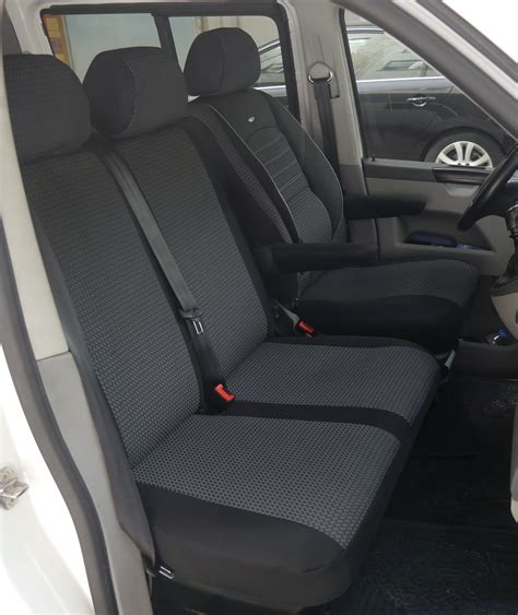 vw transporter bench seat automotive seat covers vw t5 kombi rhd for drivers seat and bench