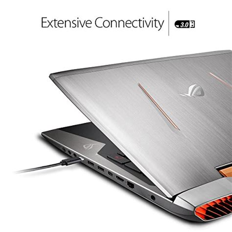 Asus Rog Laptop 32gb Ram asus rog g752vs xb72k oc edition 17 3 inch gaming laptop i7 6820hk 32gb ram w 256 gb ssd
