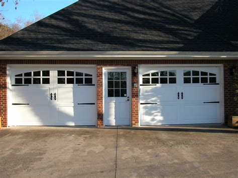 Farmhouse Garage Doors Carriage House Painted Garage Doors Farmhouse Garage Doors And Openers San Diego By