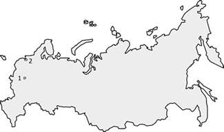Outline Map Of Russia And Northern Eurasia by Outline Of Russia