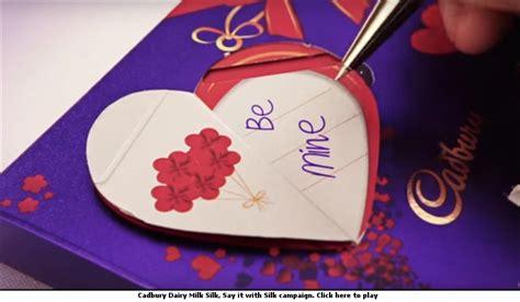 cadbury valentines day afaqs creative showcase woo your with cadbury silk