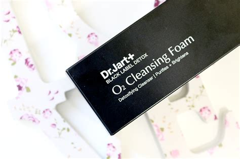 Vrl Detox by Review Dr Jart Black Label Detox O2 Cleansing Foam