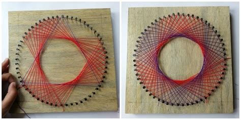 diy rainbow spirograph string 183 how to make string