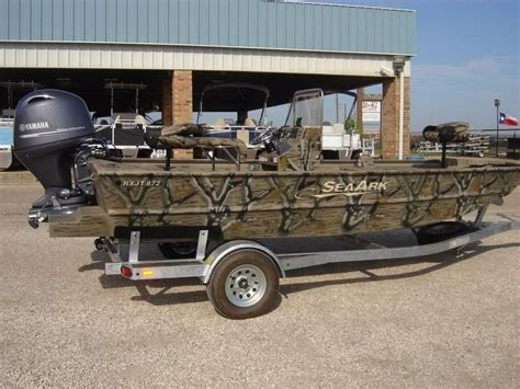 seaark boat dealers in texas 2016 new seaark 872 rx jon boat for sale 29 895 waco