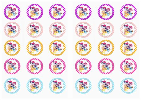 Stiker Sticker Pony my pony stickers birthday printable