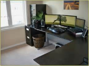 How To Install Ikea Desk L L Shaped Computer Desk Ikea Home Design Ideas