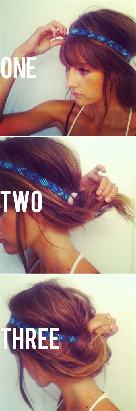 back to school hairstyles running late 10 chignons ultra rapides pour cheveux courts coiffure simple et facile