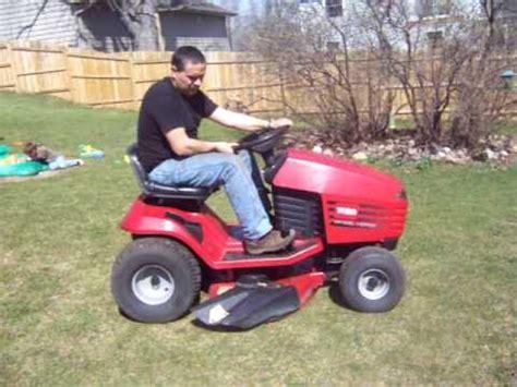 """toro 12.5hp, 38"""" riding mower youtube"""