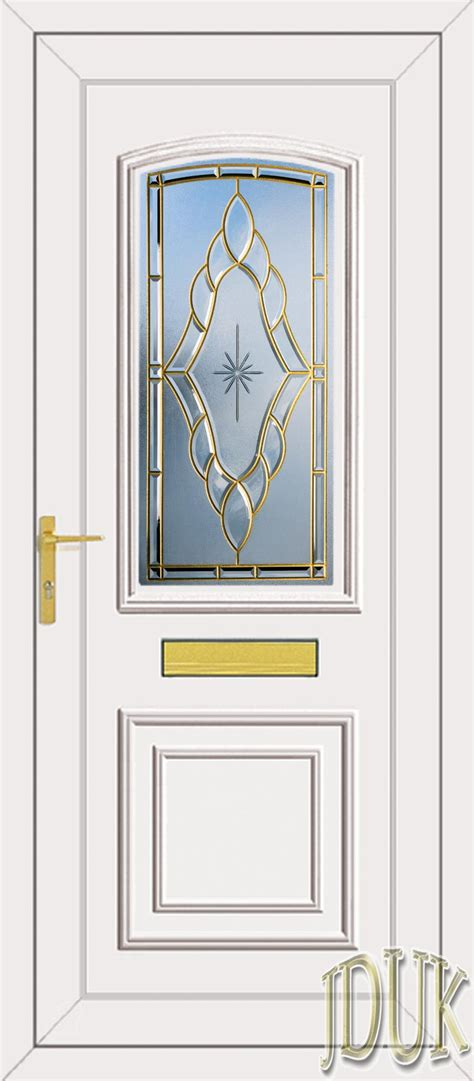 Coloured Upvc Front Doors Roosevelt One Sentiment Coloured Bevel Upvc Front Door