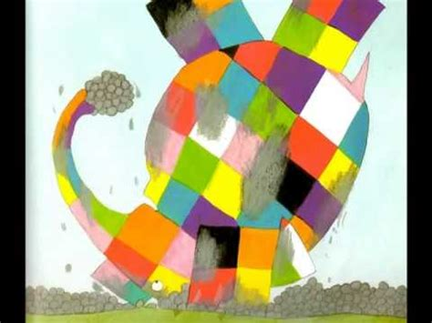Elma The Patchwork Elephant - elmer the elephant