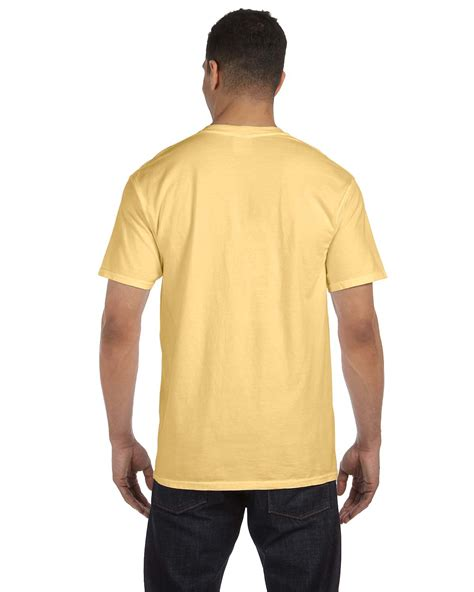 comfort color shirt colors comfort colors 6 1 oz garment dyed pocket t shirt s 3xl m