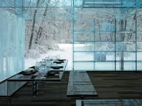 haus aus glas ultra minimal glass house modern design by moderndesign org