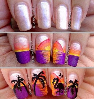 Easy Summer Nail Designs 2017