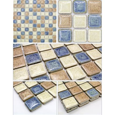 porcelain mosaic tile sheets kitchen backsplash tiles