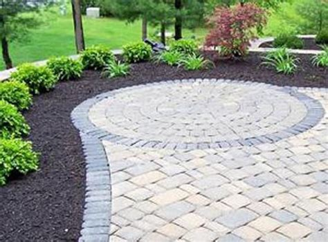 Paver Patio Pictures And Ideas Brick Paver Patio Designs