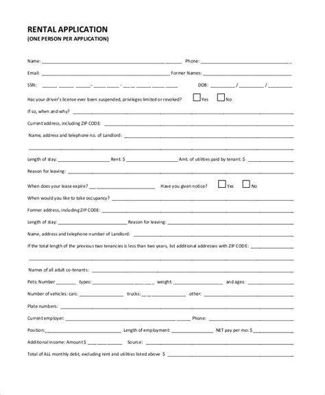 Tenant Background Check Form Tenant Background Check Form Vocaalensembleconfianza Nl