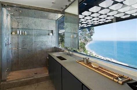 ultra modern malibu villa  outdoor pool spells luxury