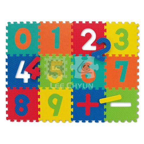 Foam Number Mat by Image Foam Numbers Puzzle Mat