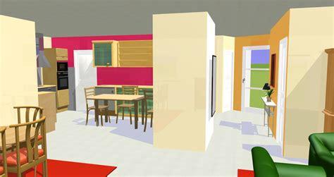 s駱aration vitr馥 entre cuisine et salon peinture brest d 233 coration espace 224 vivre d 233 coratrice 224