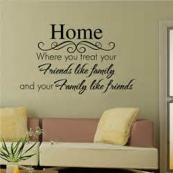 Wall Words Stickers Sayings On Pinterest Family Quotes Wall Decals And