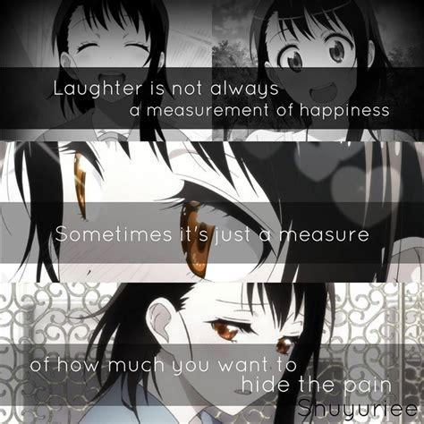anime quotes about pain anime nisekoi anime quotes pinterest my last pain