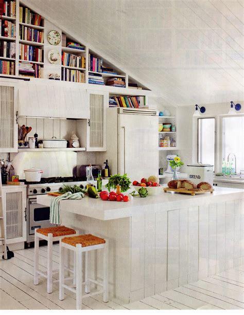 Kitchen Bookshelf Ideas Decorating The Kitchen With Bookshelves