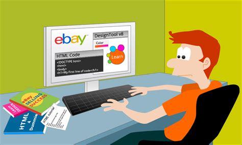 ebay selling tricks just template it