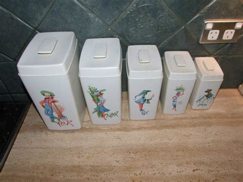 Nylex Kitchen Canisters 17 Best Images About Vtg Kitchen Misc Canisters