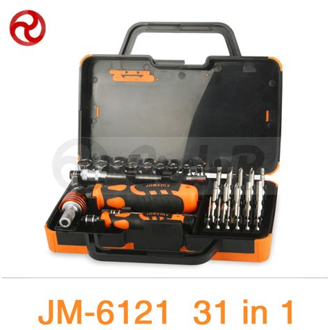Jakemy 31 In 1 Automobile Repair Tool Kit Jm 6095 jakemy 31 in 1 screwdriver set 180 quot adjustable magnetic ratchet laptop computer home furniture