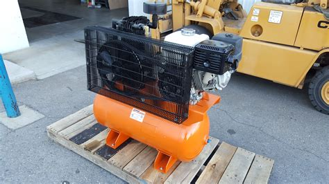 service truck honda engine powered air compressor rebuild repair motor mission machine