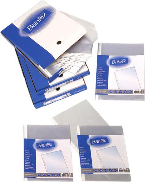 Bantex Ref 2084 A4 Poket For Flipover Presentation Binder bantex