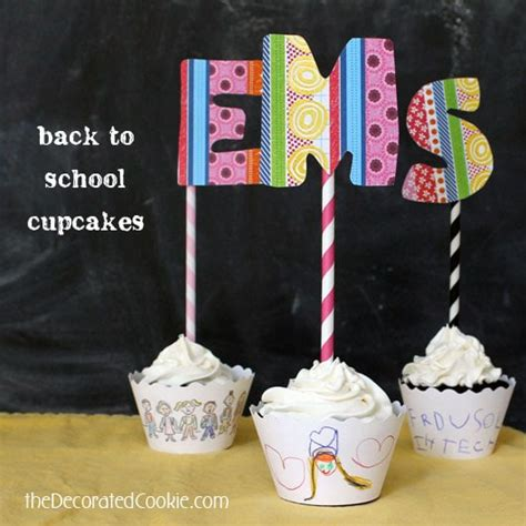 Back To School With Couture by Back To School Cupcake With Cupcake Couture