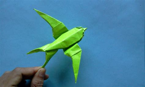 Make A Paper Bird - how to make origami bird sipho mabona oigami