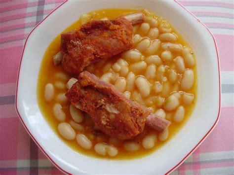 imagenes judias blancas receta jud 237 as blancas con costilla ib 233 rica mantinos