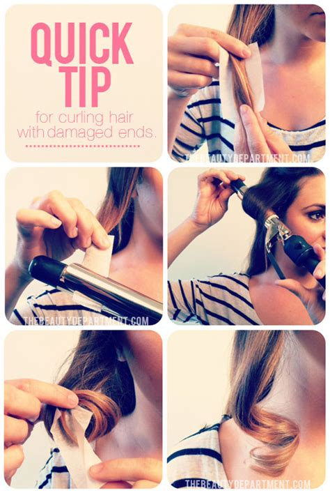 treatment for damaged hair from curling iron the beauty department your daily dose of pretty perm