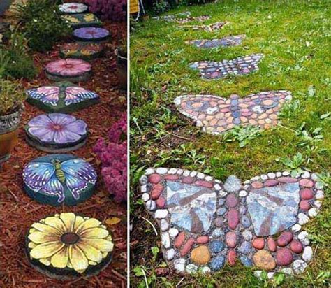 diy backyard decorating ideas 19 handmade cheap garden decor ideas to upgrade garden