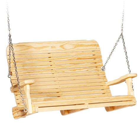 ez swing chair easy swings wood leisure lawns collection